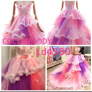 カラードレス ピンク ココメロディ ウエディングドレス(ウェディングドレス)