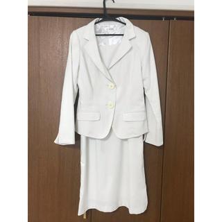 シマムラ(しまむら)のフォーマルスーツ フォーマルワンピース 白 入学式 入園式(スーツ)