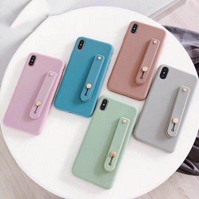 Adidas iPhone 11 ProMax ケース 人気色 - シンプル ベルト ケース パステル iphone11 11pro11 Pro Mの通販 by kazusa's shop|ラクマ