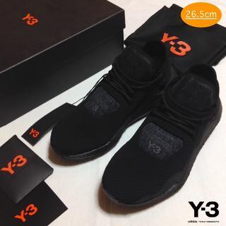ワイスリー(Y-3)の新品■UK8■Y-3 adidas■saikou■黒■スニーカー■7945(スニーカー)