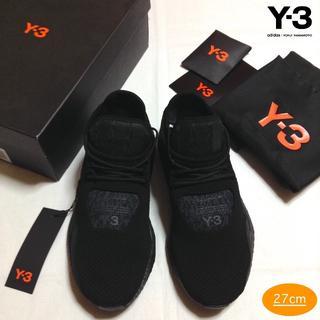 ワイスリー(Y-3)の新品■UK8.5■Y-3 adidas■saikou■黒■スニーカー■7912(スニーカー)