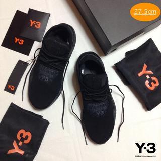 ワイスリー(Y-3)の新品■UK9■Y-3 adidas■saikou■黒■スニーカー■7936(スニーカー)