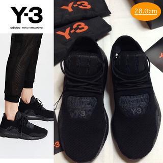 ワイスリー(Y-3)の新品■UK9.5■Y-3 adidas■saikou■黒■スニーカー■7973 (スニーカー)