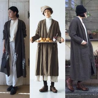 ネストローブ(nest Robe)の【nest Robe】リネンスモーキングコート(スプリングコート)