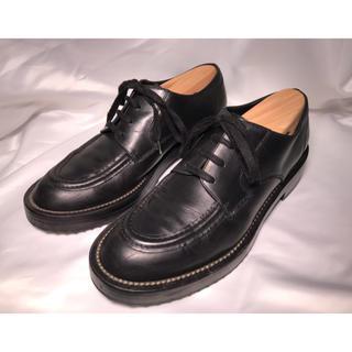 マルニ(Marni)のMARNI レザーシューズ ブラック 40(ブーツ)