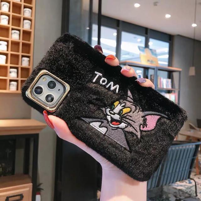 ヴィトン iphonexr カバー 革製 - 即日発送 ふわふわ可愛いトムiPhone 11ケース  11ProMaxの通販 by 希以子's shop|ラクマ