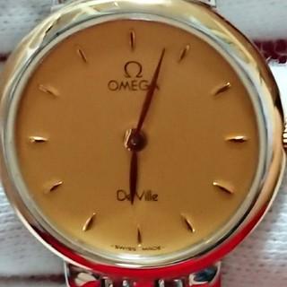 オメガ(OMEGA)の値下げ限定★OMEGA オメガ デビル ラウンド イエローゴールド 時計(腕時計(アナログ))