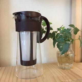 ハリオ(HARIO)のHARIO ハリオ 水出しコーヒーポット★ 水出し珈琲ポット ミニ MCPN-7(コーヒーメーカー)