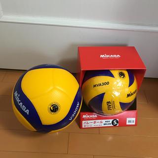 MIKASA - ミカサバレーボール MIKASA 5号球 検定球V300W 検定球MVA300