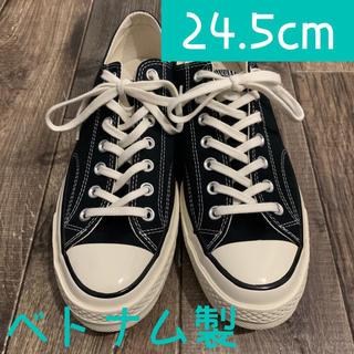 コンバース(CONVERSE)の新品未使用 CONVERSE CHUCK TAYLOR Black 24.5cm(スニーカー)