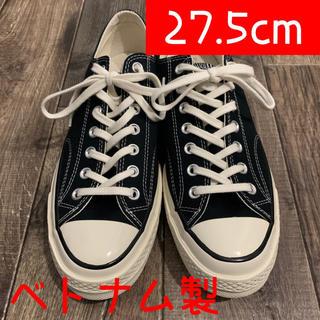 コンバース(CONVERSE)の新品未使用 CONVERSE CHUCK TAYLOR Black 27.5cm(スニーカー)