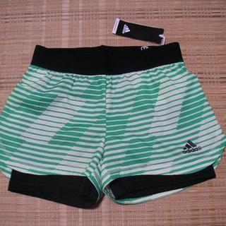 アディダス(adidas)の【レディースサッカー】アディダス★TANGO・ 2IN1ショーツ(緑)★L(ウェア)