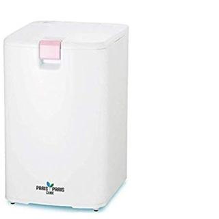 島産業 家庭用屋内型生ごみ処理機(乾燥式) パリパリキューブ ピンク (生ごみ処理機)