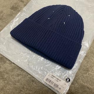 マルタンマルジェラ(Maison Martin Margiela)の新品 2017AW メゾン マルジェラ ニット帽 Mサイズ(ニット帽/ビーニー)