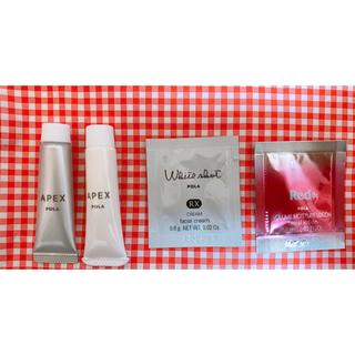 ポーラ(POLA)のつき様専用 ポーラアペックス クレンジングミルク ホワイトショット(サンプル/トライアルキット)