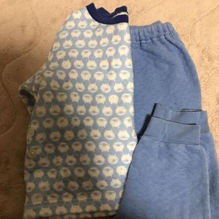 ユニクロ(UNIQLO)のユニクロ キルティングパジャマ 90(パジャマ)