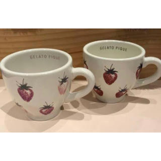 gelato pique - ジェラートピケ ジェラピケ ストロベリーマグカップ
