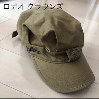 ロデオクラウンズ(RODEO CROWNS)の★美品 ロデオクラウンズ キャスケット 帽子 ワークキャップ(キャスケット)