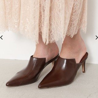 rienda - rienda★Gloss Loafers Mule