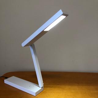ムジルシリョウヒン(MUJI (無印良品))の【はるさん専用】無印良品 LED平面発光コンパクトデスクライト(蛍光灯/電球)