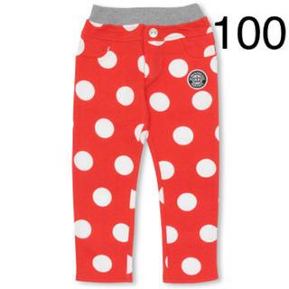 ベビードール(BABYDOLL)の新品 BABYDOLL☆100 赤 ドット柄 パンツ ベビードール(パンツ/スパッツ)