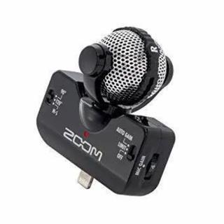 ズーム(Zoom)のZOOM Professional Stereo Microphone iQ5黒(マイク)