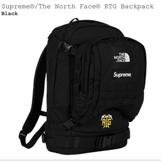 シュプリーム(Supreme)のSupreme North Face RGT Backpack Black 黒(バッグパック/リュック)