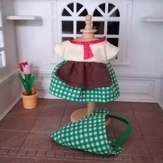 エポック(EPOCH)の森の焼きたてパン屋さん 服 ワンピース 三角巾(その他)