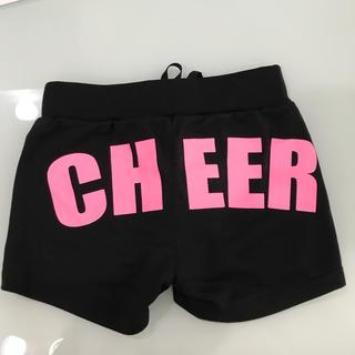 チアー(CHEER)のCHEERパンツ黒ジュニアMサイズ(ダンス/バレエ)