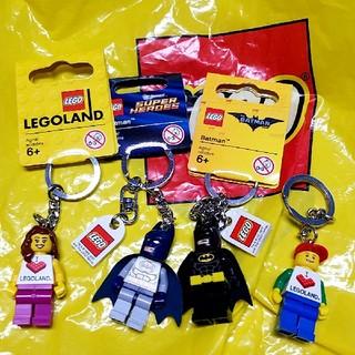 レゴ(Lego)のレゴランド レゴキーホルダー4点セット  スパイダーマン スーパーヒーローズ(その他)