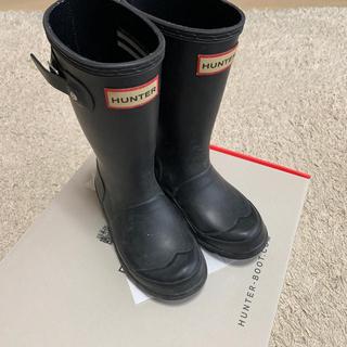 ハンター(HUNTER)のmm様専用 HUNTER  キッズ レインブーツ 17cm(長靴/レインシューズ)