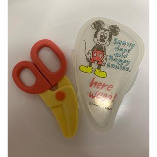 ディズニー(Disney)のDisney ミッキー ヌードルカッター(離乳食調理器具)