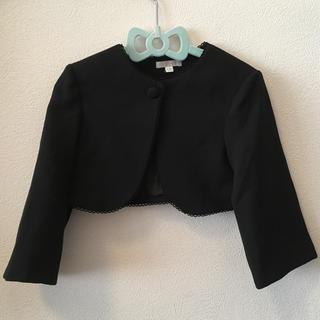 エル(ELLE)のボレロ 黒 120cm(ドレス/フォーマル)