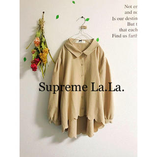 シュープリームララ(Supreme.La.La.)の☆Supreme.La.La.☆シュープリームララ♡裾スカラップブラウス(シャツ/ブラウス(長袖/七分))