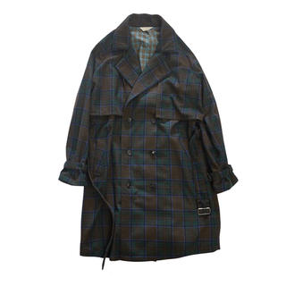 "Jieda - JieDa(ジエダ) ""PLAID TRENCH COAT"" <トレンチコート>"