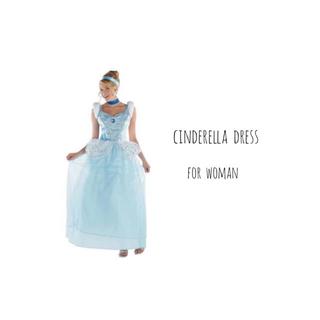ディズニー(Disney)のシンデレラ ドレス コスプレ衣装(その他ドレス)