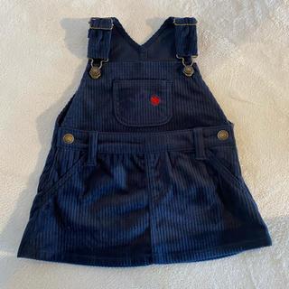 ポロラルフローレン(POLO RALPH LAUREN)のPOLO ジャンパースカート コーデュロイ 70サイズ(スカート)
