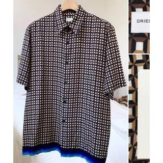 ドリスヴァンノッテン(DRIES VAN NOTEN)のドリスバンノッテン  シルクシャツ(Tシャツ/カットソー(半袖/袖なし))