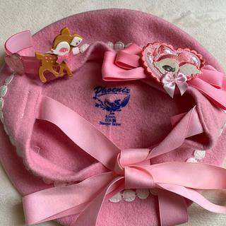 アンジェリックプリティー(Angelic Pretty)のAngelic  Pretty 小鹿のミルキーちゃん セット(ハンチング/ベレー帽)