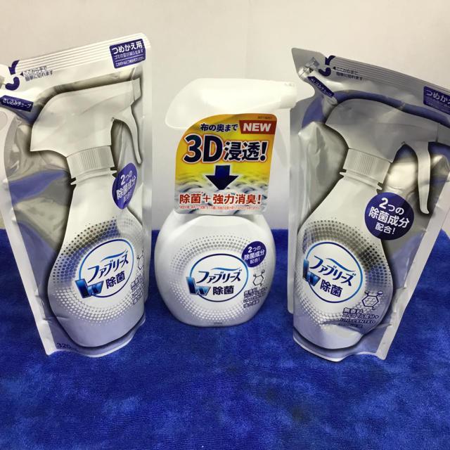 P&G - ファブリーズ アルコール除菌 w除菌 詰め替えセットの通販