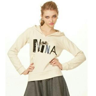 Nina mew - nine mewスウェットパーカーフーディープルオーバーレディース送料無料