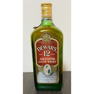 デュワーズ アンセスター 12年 80年代のオールドボトル(ウイスキー)