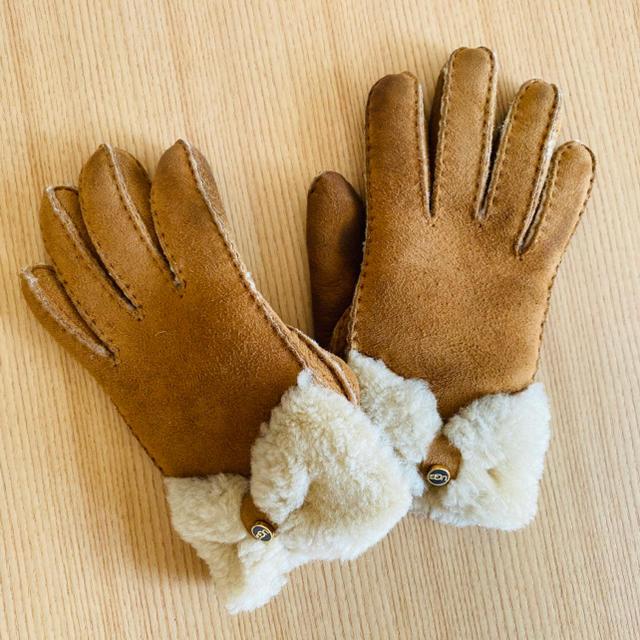 UGG(アグ)のムートン 手袋 防寒 レディースのファッション小物(手袋)の商品写真