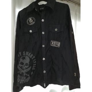 バツ(BA-TSU)の重ね着風シャツ/パーカー(Tシャツ/カットソー)