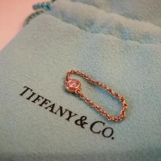 ティファニー(Tiffany & Co.)のティファニー  バイザヤード K18PG リング  (リング(指輪))