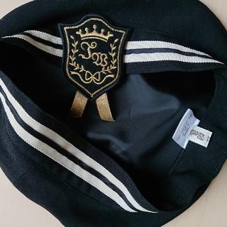 イノセントワールド(Innocent World)のInnocent World セーラーベレー帽 黒(ハンチング/ベレー帽)