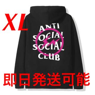 アンチ(ANTI)のFragment x Assc Pink Bolt Hoodie(パーカー)