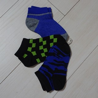 ソックス【新品】3点セット サイズ15~20cm(靴下/タイツ)