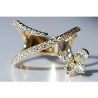K18 コデラトモコ ダイヤモンド 1.16ct リング 18号 小寺智子 (リング(指輪))