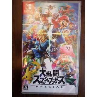 ニンテンドースイッチ(Nintendo Switch)の大乱闘スマッシュブラザーズ SPECIAL Switch 新品未開封(家庭用ゲームソフト)